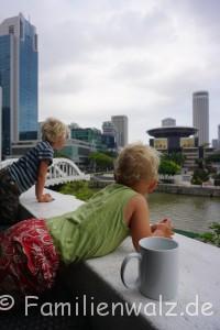 Eine Regenbogenfamilie unterwegs - In Singapur
