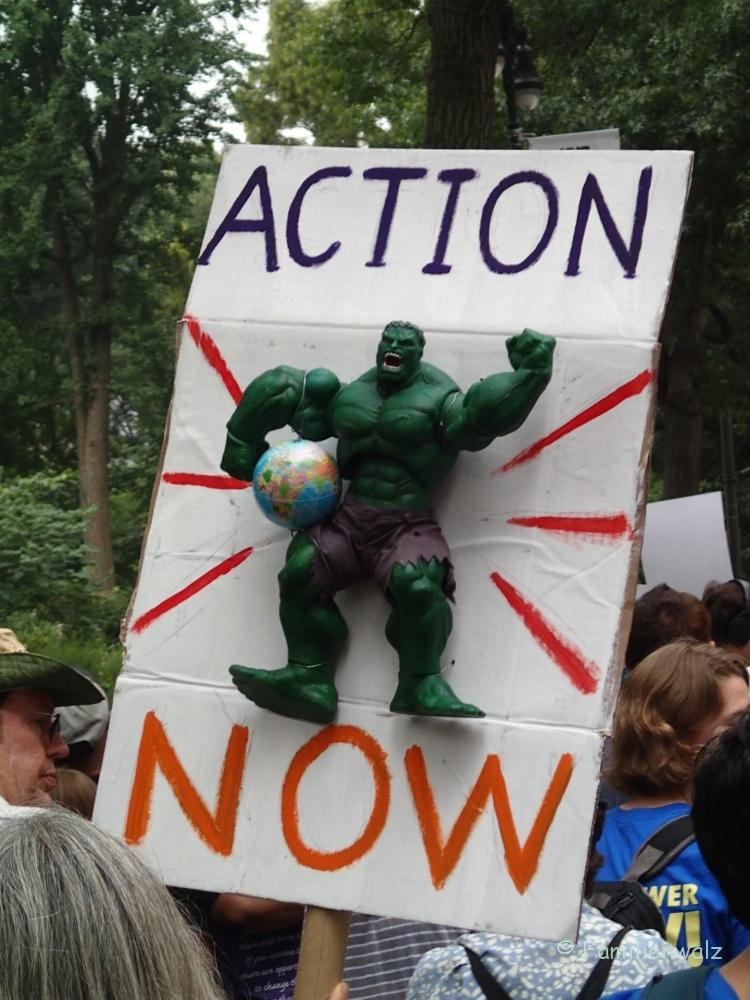 """""""Müssen wir die Welt retten?"""" – Der World Climate March"""