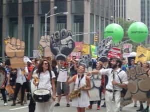 """Familienwalz - """"Müssen wir die Welt retten?"""" - World Climate March 2014, New York"""