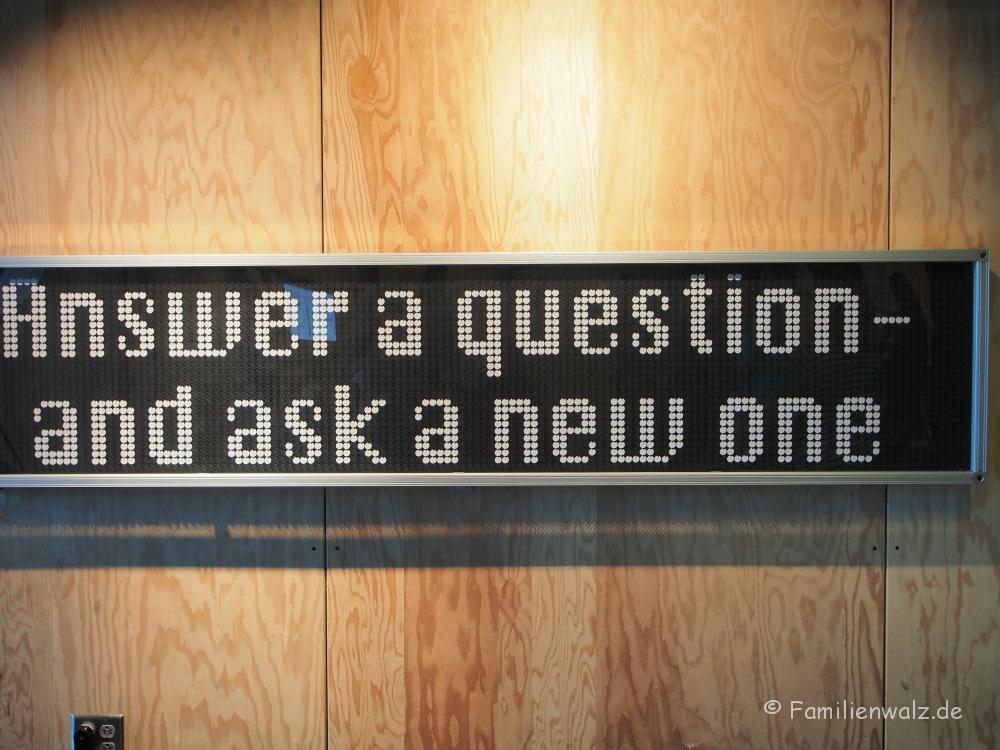 """Warum Homeschooling vielleicht doch nicht des Teufels ist - unsere Woche in Alexandria - im """"Exploratorium"""", dem Wissenschaftsmuseum in San Francisco"""