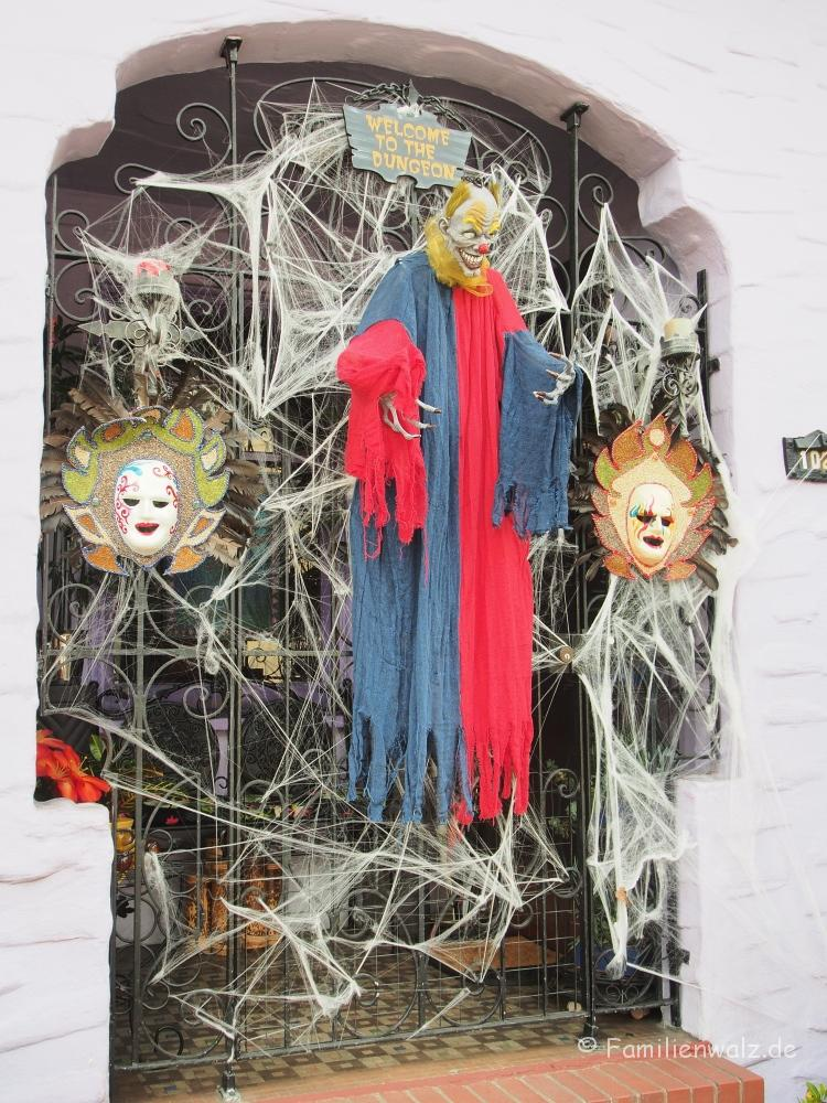 Halloween bei 30 Grad, Chiles Wendland und die größte Open-Air-Galerie der Welt - Kurz vor Halloween in Glen Park, San Francisco