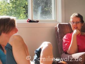Warum Homeschooling vielleicht doch nicht des Teufels ist - unsere Woche in Alexandria - Alex und Chantal