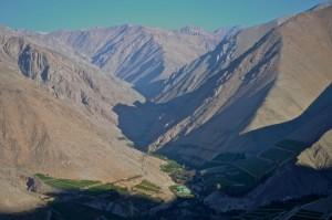 Unser Advent in Chile: Ein Anden-Dorf feiert das HOMA-Ritual - Das Tal von Pisco Elqui