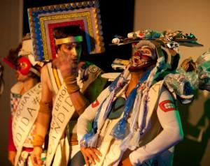 """Sinnfragen in Montreál - Arianes Theatertruppe """"Compagnie Mythomanie"""", © Ariane Genet De Miomandre"""