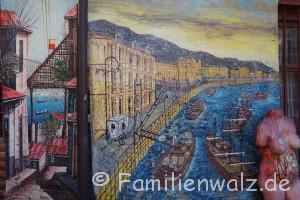 Magisches Pisco Elqui - Sterne, Wein und echte Schätze - Graffitti in Valparaiso