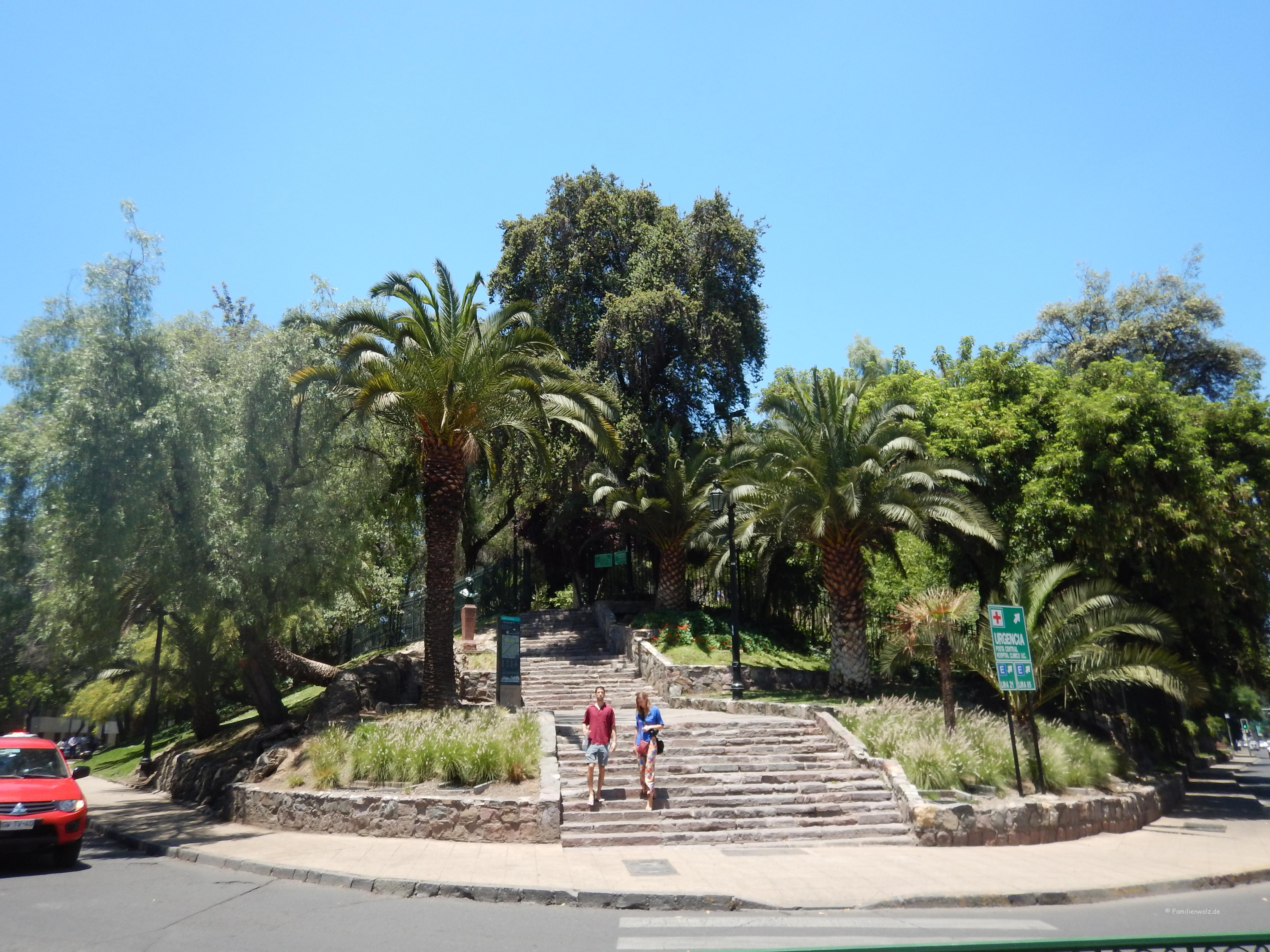 Santiagos schönste Ecken, Chiles schwere Geschichte und warum sie etwas mit uns zu tun hat - Santa Lucia