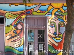 Santiagos schönste Ecken, Chiles schwere Geschichte und warum sie etwas mit uns zu tun hat - in Santiago de Chile