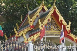 Und plötzlich Thailand - Tempel in Bangkok