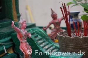 3 Tage Bangkok - Zwischen Raserei und Ruhe - Altstadtfahrt - Haustempel