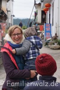 Zwischen Kälteschock und Schildkröten-Massaker - unsere ersten Tage in China - endlich zurückfahren!