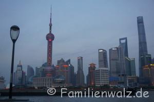 Zwischen Kälteschock und Schildkröten-Massaker - unsere ersten Tage in China - Shanghai