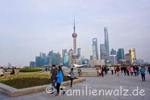 Shanghai - Willkommen in der Zukunft - Shanghais Skyline