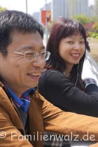 Shanghai - Willkommen in der Zukunft - Bao und seine Freundin Yoyo