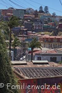 Mauerkunst am Meer - Staunen in Valparaiso - Valparaiso